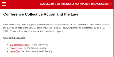 (Italiano) Collective Action and The Law