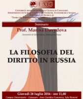 (Italiano) La filosofia del diritto in Russia