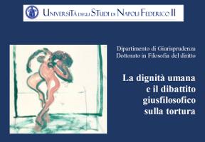 (Italiano) La dignità umana e il dibattito giusfilosofico sulla tortura