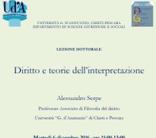 Diritto e teorie dell'interpretazione