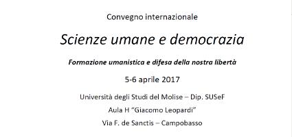 Scienze umane e democrazia