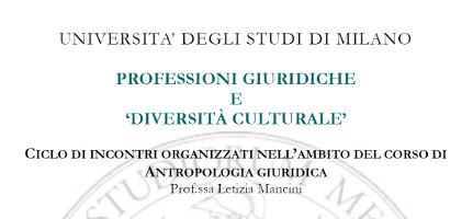 Professioni giuridiche e diversità culturale