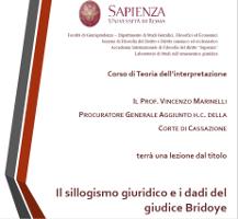 Il sillogismo giuridico e i dadi del giudice Bridoye