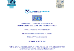 Migration and the Protection of Individual and Social Rights in the European and South American Perspective