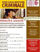 (Italiano) Penalità e legalità
