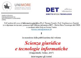 (Italiano) Scienza giuridica e tecnologie informatiche