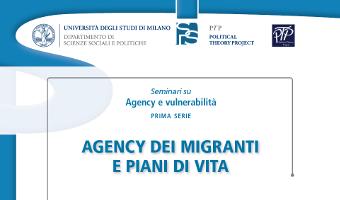 Agency dei migranti e piani di vita