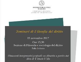 Disaccordi interpretativi profondi: un dibattito a partire dal libro di Vittorio Villa