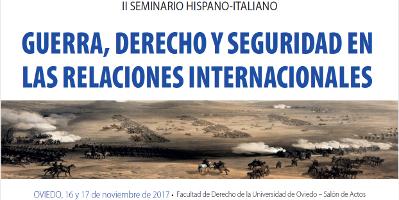 Guerra, derecho y seguridad en las relaciones internacionales