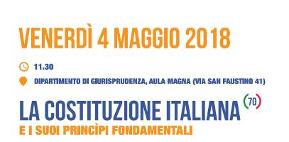 La Costituzione Italiana e i suoi principi fondamentali
