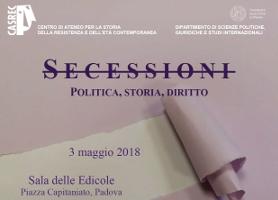 Secessioni: politica, storia, diritto