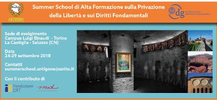 Summer School di Alta Formazione sulla Privazione della Libertà e sui Diritti Fondamentali