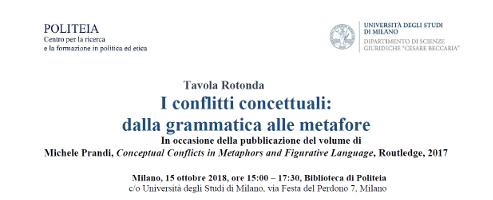I conflitti concettuali: dalla grammatica alle metafore