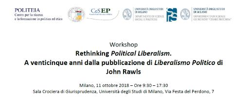 Rethinking Political Liberalism. A venticinque anni dalla pubblicazione di Liberalismo Politico di John Rawls