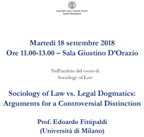 Sociology of Law vs. Legal Dogmatics: Arguments for a Controversial Distinction