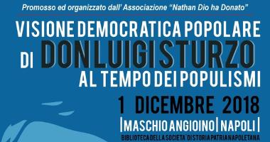 Visione democratica popolare di Don Luigi Sturzo al tempo dei populismi