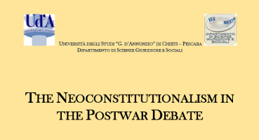 The Neoconstitutionalism in the Postwar Debate