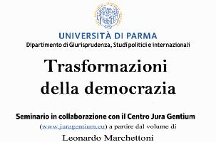 Trasformazioni della democrazia